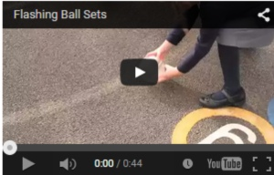 Irregular Bounce Sensory Flashing Balls Video