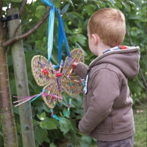 Weaving Butterflies and Dragonflies