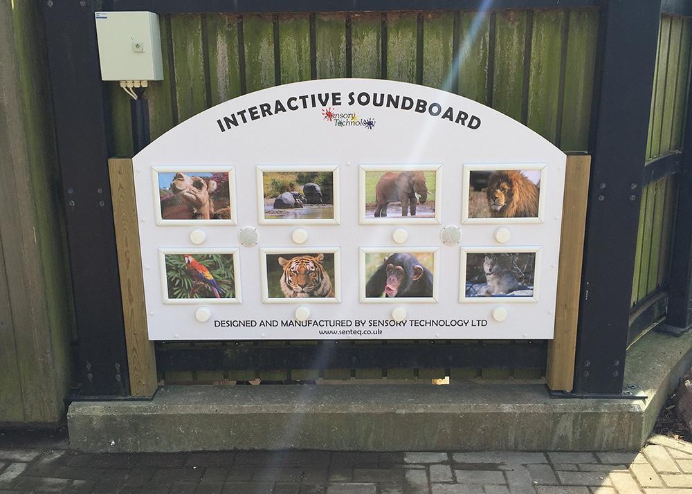 Interactive Sensory Garden Soundboard