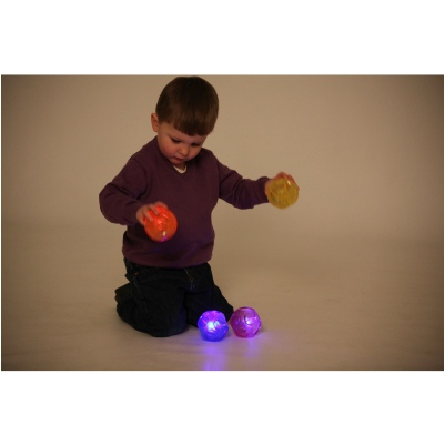 Irregular Bounce Sensory Flashing Balls