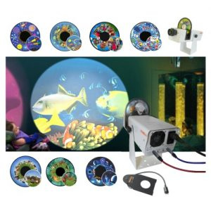 Solar LED Projector Bundle